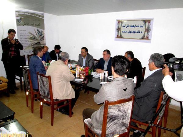 افتتاح دفتر مرکزی موسسه تالش شناسی