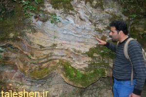 کشف یک غار با قدمت عصر آهن در شهرستان ماسال .