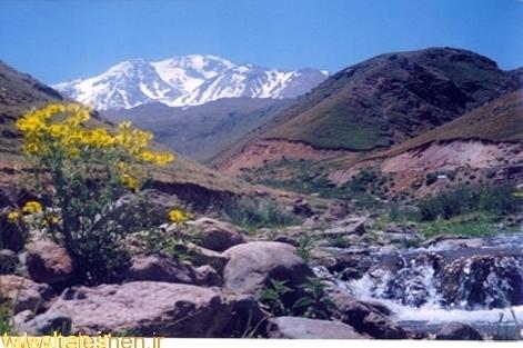 ناپایداری دامنه های غربی کوههای تالش