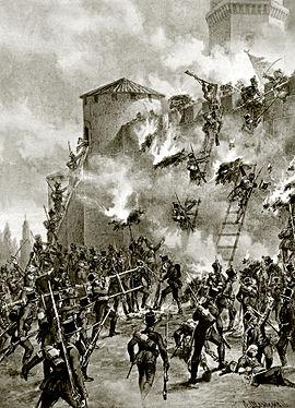 سقوط قلعه لنکران